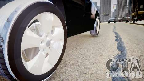 BMW X3 2.5Ti 2009 для GTA 4 вид сзади