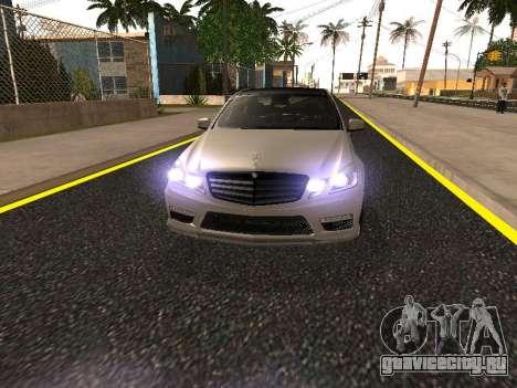 Mercedes-Benz E63 Armenian для GTA San Andreas колёса