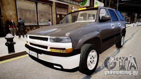 Chevrolet Tahoe Stock 2002 для GTA 4
