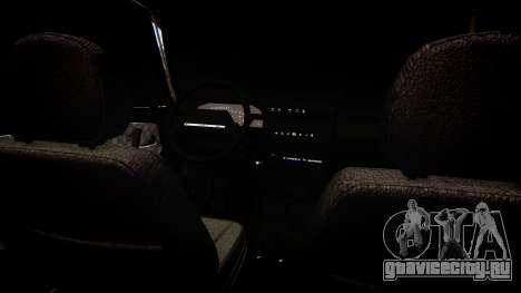 ВАЗ 2113 для GTA 4 вид изнутри