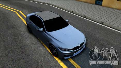 BMW M3 F80 30 Jahre 2016 для GTA San Andreas вид справа