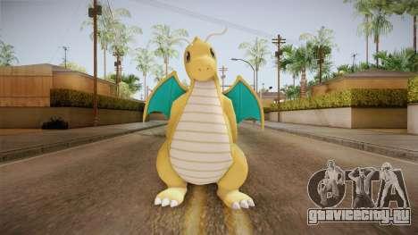 Pokémon XY - Dragonite для GTA San Andreas второй скриншот