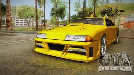 Elegy Taxi Sedan для GTA San Andreas