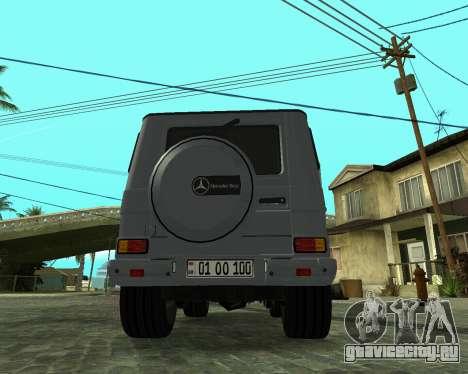 Mercedes Benz G500 Armenian для GTA San Andreas