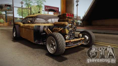 GTA 5 Declasse Tornado Rat Rod для GTA San Andreas вид справа