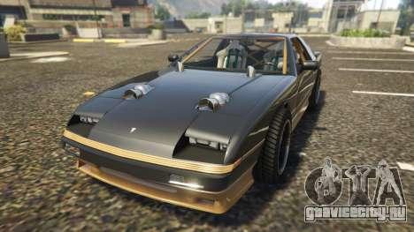Ruiner FD Spec для GTA 5 вид сзади