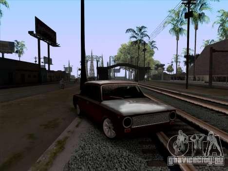 ВАЗ 2101 Снежная версия BPAN для GTA San Andreas