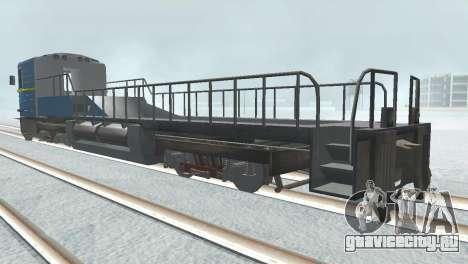 Вагон типа ЕмаЭГ 81-502 0001 для GTA San Andreas вид сбоку