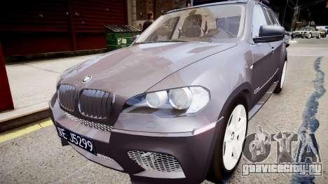 BMW X5 V1.0 для GTA 4