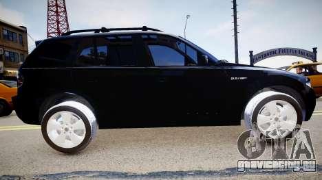 BMW X3 2.5Ti 2009 для GTA 4 вид слева