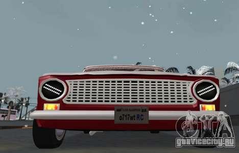ВАЗ 2101 Снежная версия BPAN для GTA San Andreas вид справа