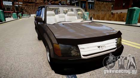 Toyota Land Cruiser VXR 1999 для GTA 4