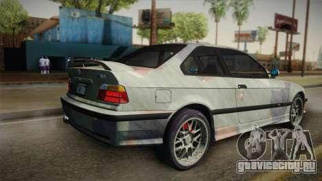 BMW M3 E36 TANK для GTA San Andreas вид слева
