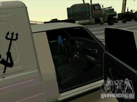 Иж-21175 для GTA San Andreas вид изнутри