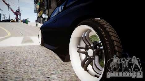 Nissan 200SX Tuning для GTA 4 вид сзади
