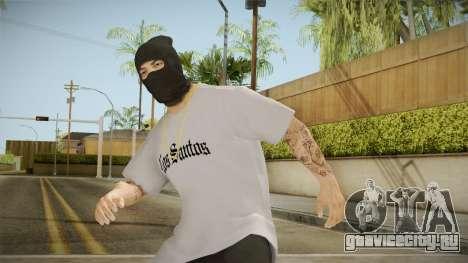 Бандит в маске для GTA San Andreas