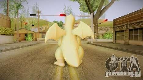 Pokémon XY - Dragonite для GTA San Andreas третий скриншот