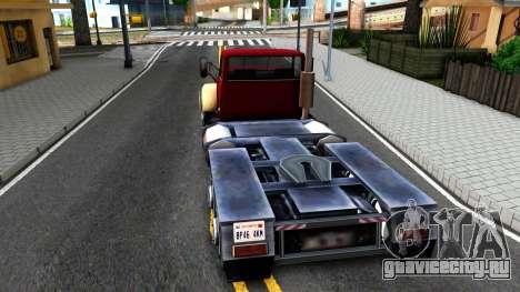 Cement Truck для GTA San Andreas вид сзади слева