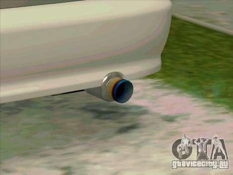 Honda CIVIK FERIO RR для GTA San Andreas вид сзади слева