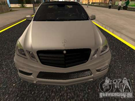 Mercedes-Benz E63 Armenian для GTA San Andreas двигатель