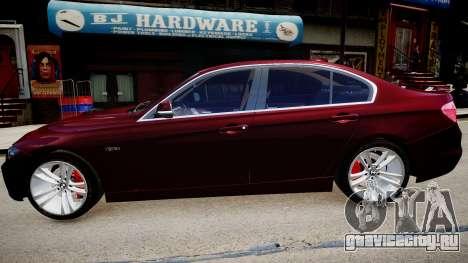 BMW 335i 2013 для GTA 4 вид слева