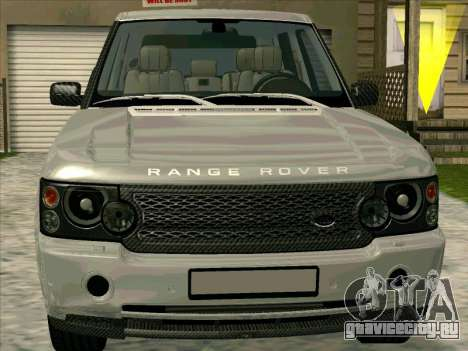 Range Rover Sport 2008 для GTA San Andreas вид слева