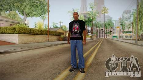 3D Space Cat T-Shirt для GTA San Andreas третий скриншот