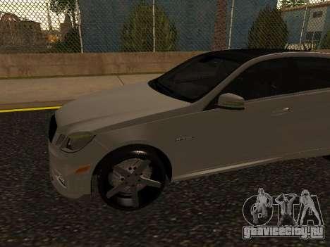 Mercedes-Benz E63 Armenian для GTA San Andreas вид слева