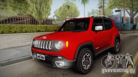 Jeep Renegade 2017 для GTA San Andreas