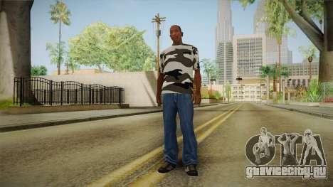 Зимний камуфляж для GTA San Andreas третий скриншот