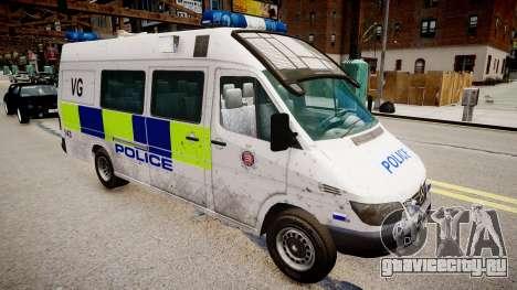 Mercedes-Benz Sprinter Police для GTA 4