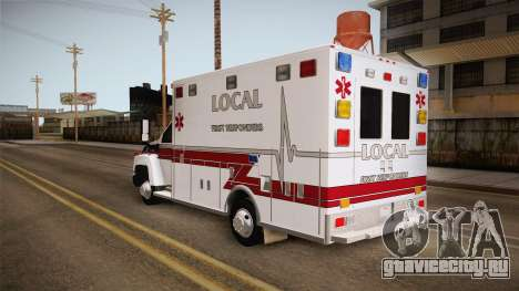 Chevrolet C4500 2008 Ambulance для GTA San Andreas