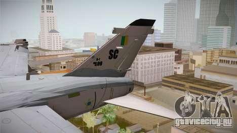 EMB Embraer A-1 AMX FAB для GTA San Andreas вид сзади