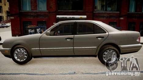 Mercedes E280 w210 1998 для GTA 4 вид слева