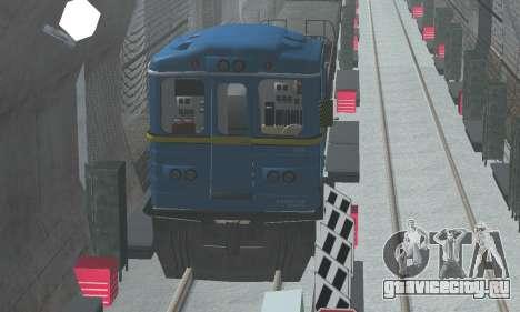 Вагон типа ЕмаЭГ 81-502 0001 для GTA San Andreas вид сверху