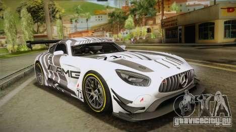 Mercedes-Benz AMG GT3 2016 для GTA San Andreas колёса