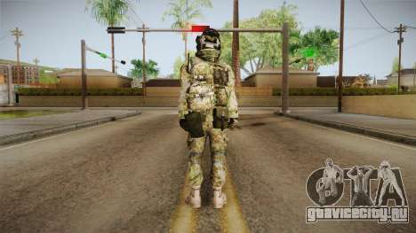 Multitarn Camo Soldier v1 для GTA San Andreas третий скриншот
