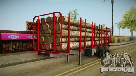 Double Trailer Timber Brasil v2 для GTA San Andreas