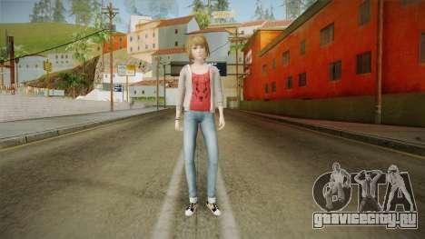 Life Is Strange - Max Caulfield Red Shirt v2 для GTA San Andreas второй скриншот