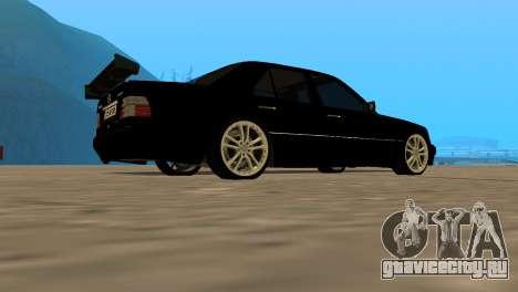 Mersedes-Benz E500 W124 Armenia для GTA San Andreas вид слева