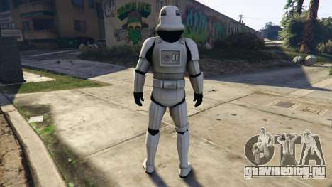 Stormtrooper 0.1 для GTA 5 третий скриншот