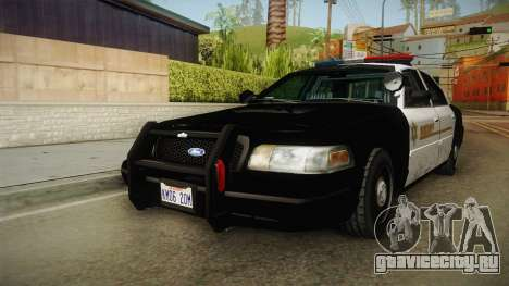 Ford Crown Victoria SHERIFF для GTA San Andreas