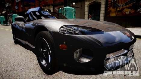 Dodge Viper RT/10 1992 для GTA 4