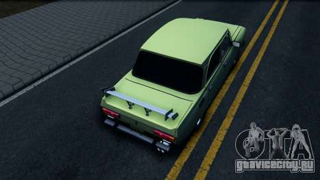 АЗЛК 2140 GT для GTA San Andreas вид сзади