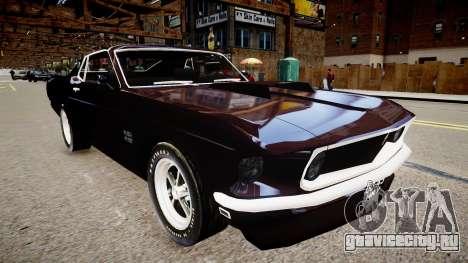 Ford Mustang Boss 429 1964 для GTA 4 вид справа