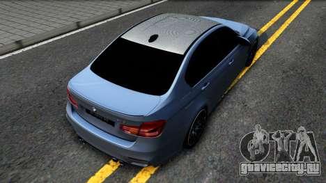 BMW M3 F80 30 Jahre 2016 для GTA San Andreas вид сзади