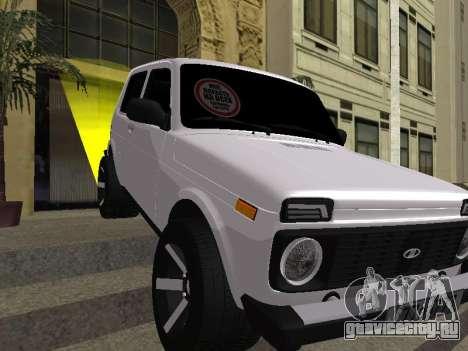 Niva 2121 Аrmenian для GTA San Andreas салон