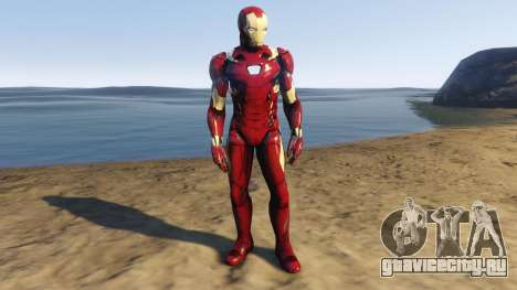 Iron Man Mark 46 для GTA 5