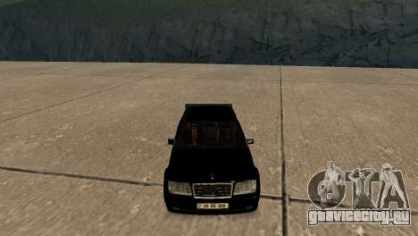 Mersedes-Benz E500 W124 Armenia для GTA San Andreas вид изнутри