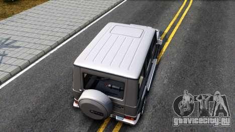 Mercedes-Benz G500 v2.0 для GTA San Andreas вид сзади